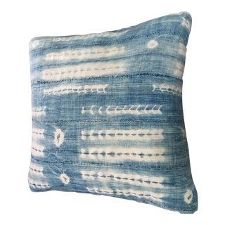 Handmade Indigo Pillow