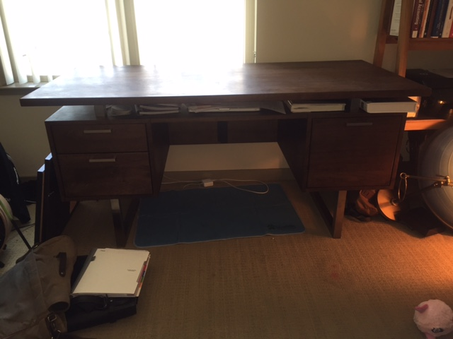 Crate And Barrel Clybourn Desk Chairish