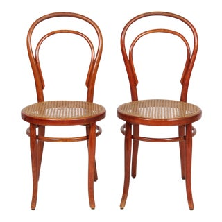 1910 Thonet Model 14 Bentwood Chairs - A Pair