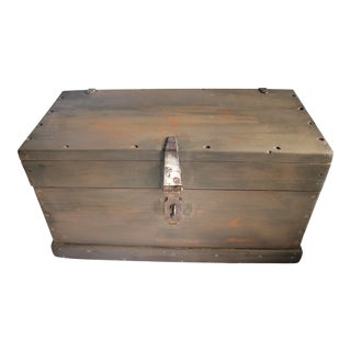 Industrial Rustic Storage Chest