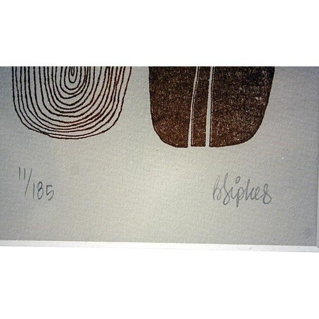 Signed Mid-Century Art from New Zealand - Image 3 of 3
