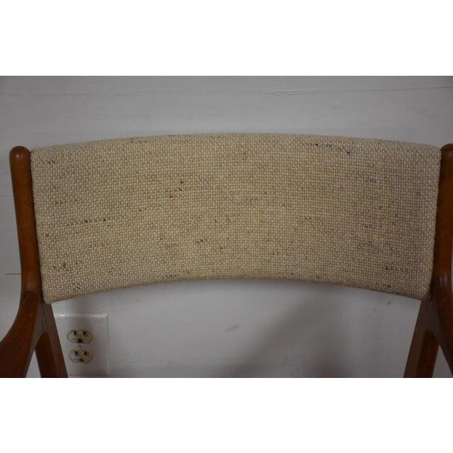 Mid-Century Teak Side Chair - Image 6 of 11