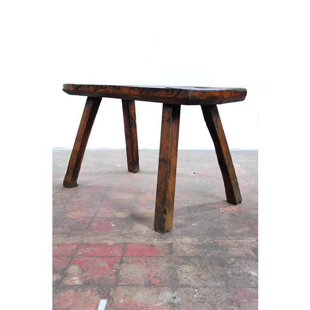 Image of 18th Century Antique French Rustic Farm Table
