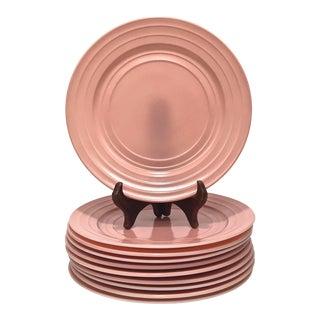1940s Moderntone Dinnerplate - Set of 10