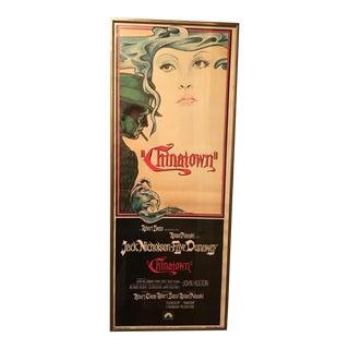 "Original ""Chinatown"" Movie Poster"