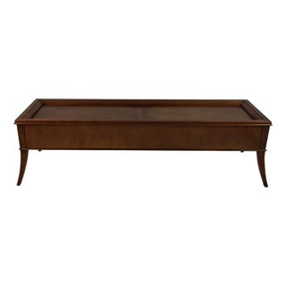Mid-Century Coffee Table with Hidden Compartment