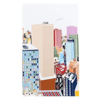 Mori Shizume - New York Skyline 4 Silkscreen