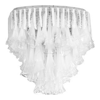 Rare Venini Plafonnier Light