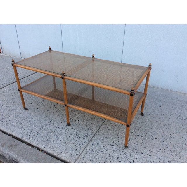 1960's Hollywood Regency Two Tiered Console - Image 11 of 11
