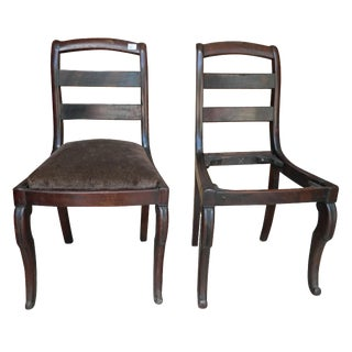 19th-C. Continental Chairs - A Pair