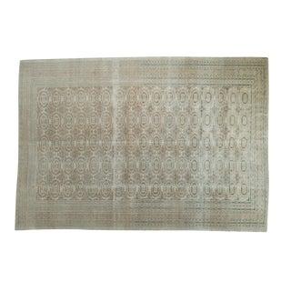 """Vintage Distressed Kaisary Carpet - 6'7"""" x 9'5"""""""