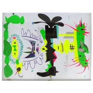 "G. Oviedo ""Bimini 3"" Original Collage"