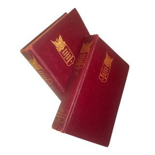 1905 Red Books - A Pair