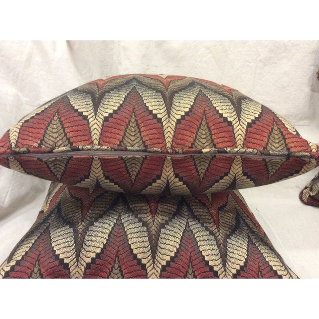 Tapestry Upholstered Pillow - Image 5 of 7