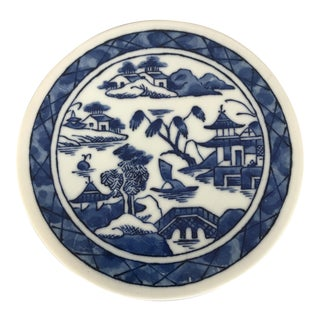 Hand Painted Japanese Porcelain Trivet