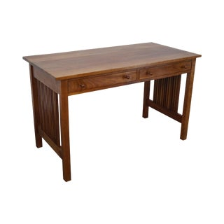 Stickley Mission Style Solid Cherry Writing Desk