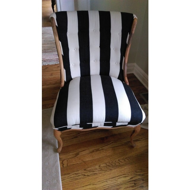 Mid-Century Modified Wingback Chair - Image 2 of 5