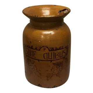 Wooden Apothecary Jar