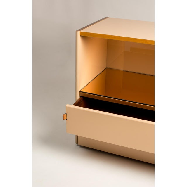 Italian Lacquer Peach Bar/Chest - Image 5 of 5