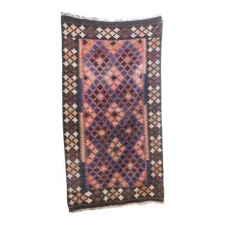 Vintage Kilim Carpet Pakistani Rug - 3′3″ × 6′1″