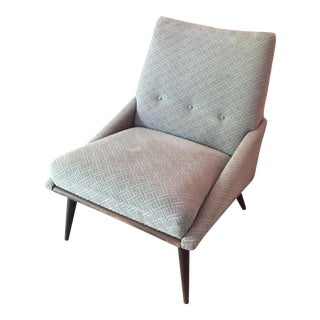 Mid-Century Low Lounge Chair