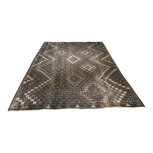 "Bellwether Rugs Turkish Jijim Kilim Rug - 7'3"" X 10'10"" - Image 1 of 9"