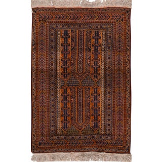 "Apadana - Vintage Persian Balouch Rug, 3' x 4'8"""