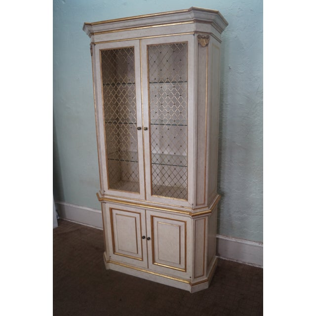 Widdicomb Hollywood Regency Style Tall Cabinet - Image 3 of 10