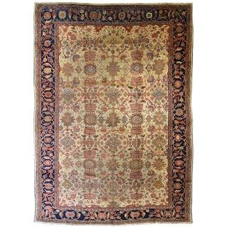 Antique Persian Mahal Zeigler Carpet