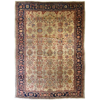 Antique Persian Mahal Zeigler Carpet