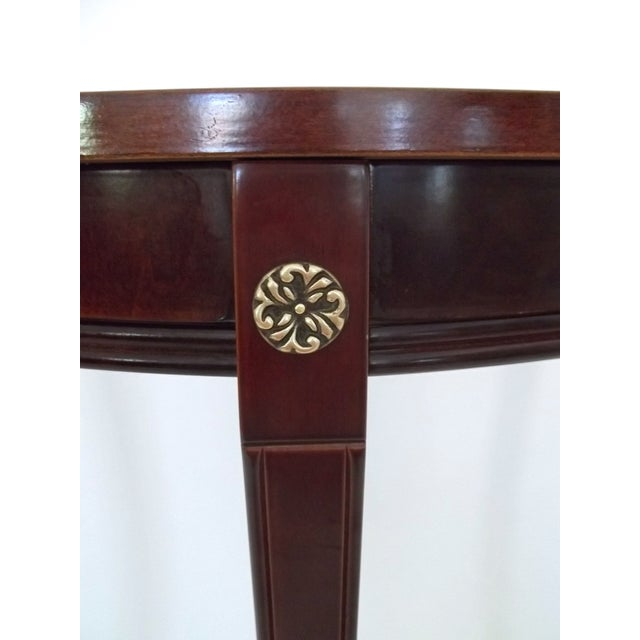 Bombay Company Demi Lune/Console Table - Image 5 of 6