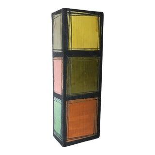 1960s Vintage Bitossi Sgraffito Multicolored Vase