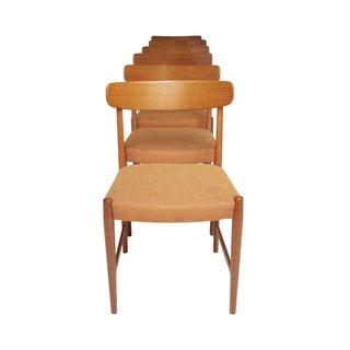 Teak Dining Chairs, Skaraborgs Mobelindustri - 6
