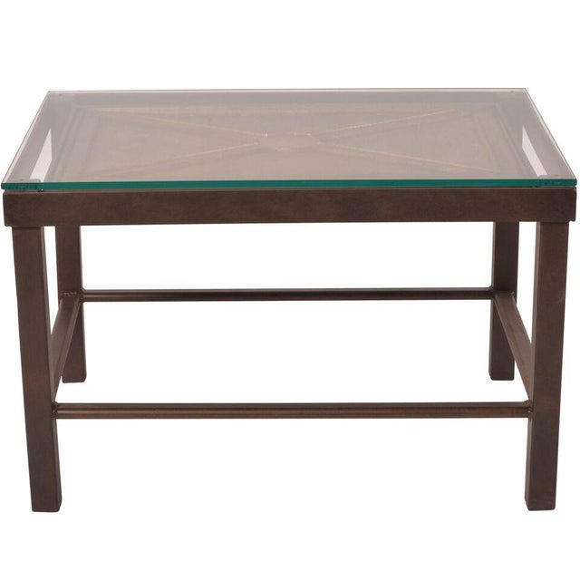 Reclaimed Iron Coffee Table - Image 3 of 5