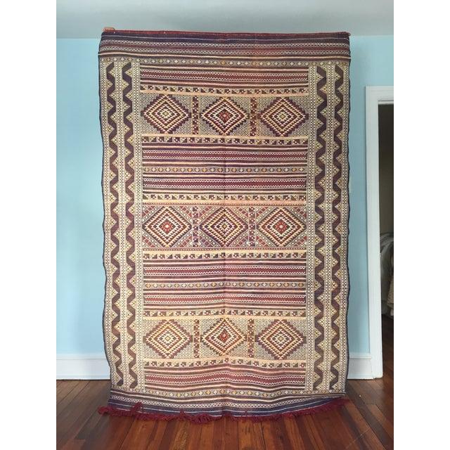 Zemmour Moroccan Wool Rug - 5′1″ × 7′5″ - Image 2 of 4