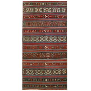 Vintage Turkish Kilim Flatweave -- 5'4 x 10'10