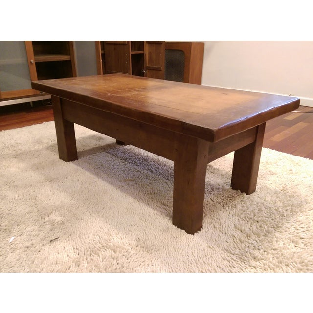 ABC Carpet & Home Solid Wood Coffee Table - Image 2 of 7