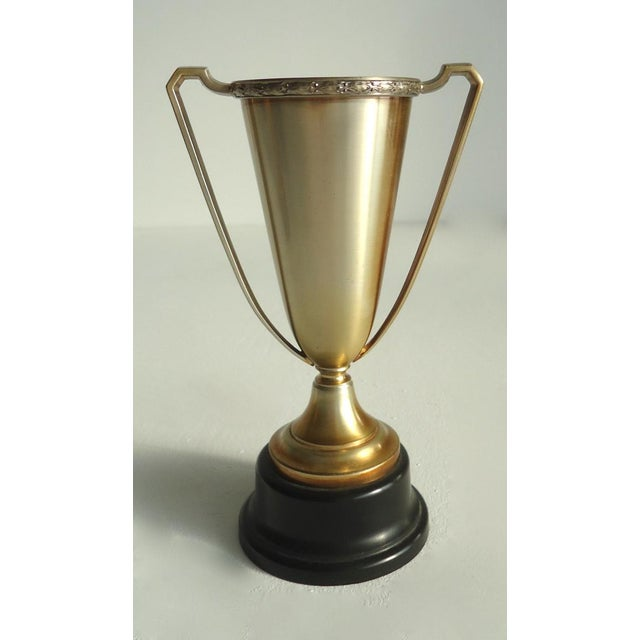 Image of 1929 Antique Art Deco Orchestra Trophy