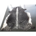 Image of Black & White Speckled Cowhide Rug - 6′ X 5'6""
