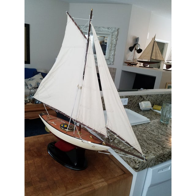 1923 Antique Sailboat Model - Image 2 of 6