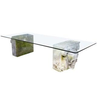 Stone Skull Table