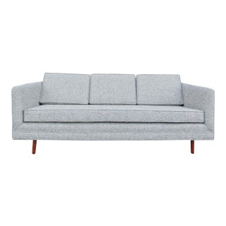 Gray Danish Modern Sofa