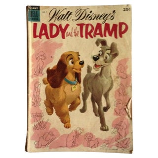 Vintage Lady and the Tramp Comic Book