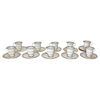 Franciscan Cups & Saucers - Set of 10