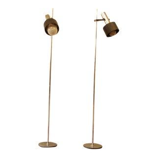 Gerald Thurston for Lightolier Floor Lamps - Pair