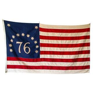 1976 Bicentennial 1776-1976 Flag