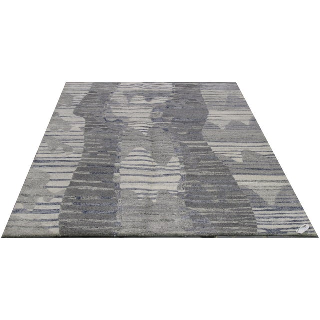 Indian Tufted Rug - 5′ × 7′8″ - Image 1 of 5