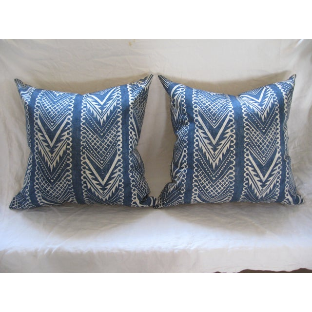 Custom Hand-Spun Linen Pillows - A Pair - Image 4 of 8