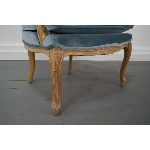 Rowe Louis XV Style Fauteuils Arm Chairs - Pair - Image 10 of 10