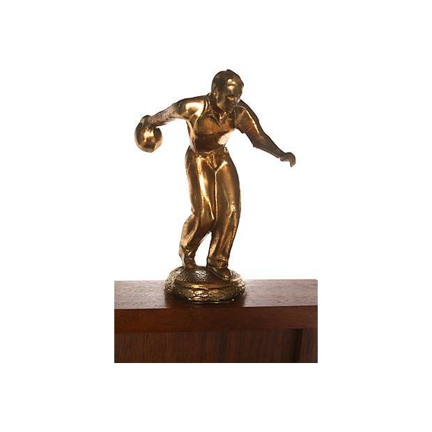 1962 Mid-Century Bowling Trophy - Image 3 of 4